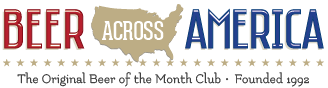 Beer across America. The original beer of the month club. Founded 1992